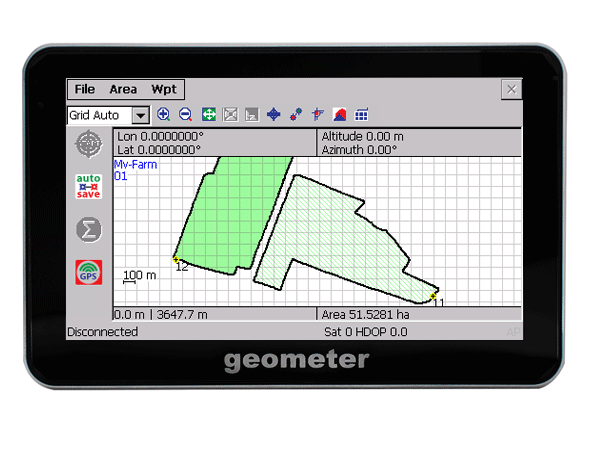 GeoMeter - Precise GPS area measurement